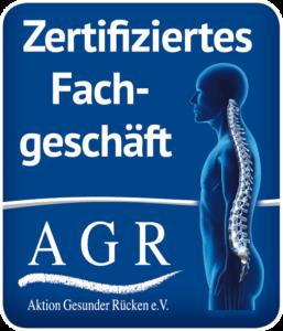 AGR - Zertifiziertes Fachgeschäft